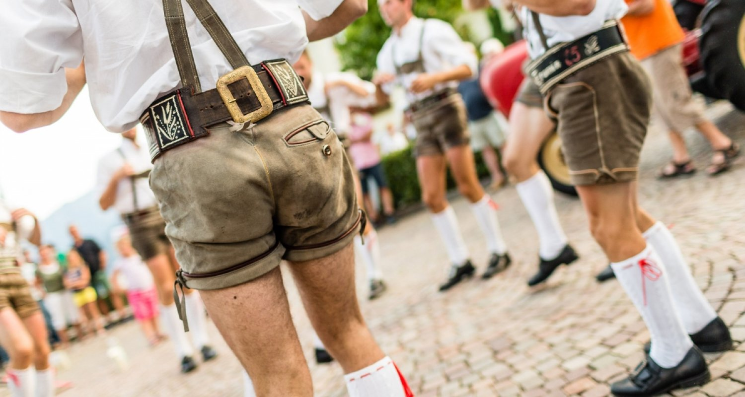 Tradition in Dorf Tirol